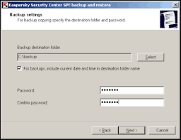 reset password kaspersky security center how to use klbackup utility to backup and restore administration