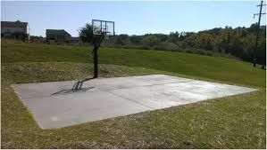 backyards cozy backyard basketball court dimensions standard