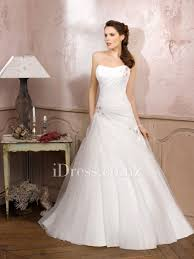 draped wedding dress strapless a line side draped wedding dress with beaded embroidery