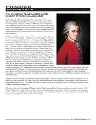 mozart biography brief the magic flute study guide by boston lyric opera issuu