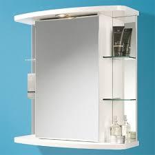 Corner Bathroom Mirror Cabinet Corner Bathroom Cabinet With Light And Shaver Socket Www
