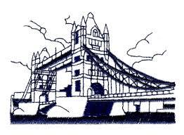 tower bridge london embroidery designs machine embroidery designs