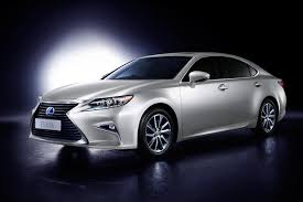lexus hybrid sedan price lexus es300h hybrid luxury sedan launched in india at inr 55