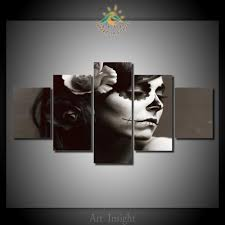 online get cheap skull canvas wall art aliexpress com alibaba group