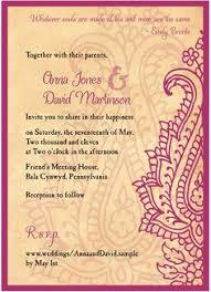 mehndi cards poppy wedding invitation india mehndi farsi