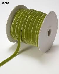 woven ribbon 3 8 inch velvet woven ribbon parrot green buy ribbons online