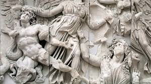 great altar of zeus and athena at pergamon video khan academy