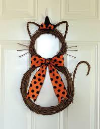 Halloween Witch Wreath by Spooky Handmade Halloween Wreath Designs For Your Front Door