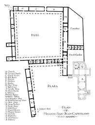 Floor Plan Of A Church by File 1916 Rexford Newcomb Plan View Mission San Juan Capistrano