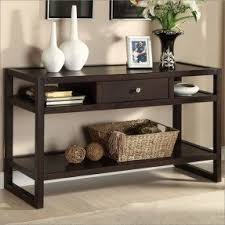 sofa table sofa table with storage drawers foter