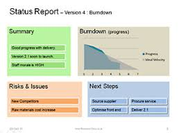status template be clear u0026 successful with status reports