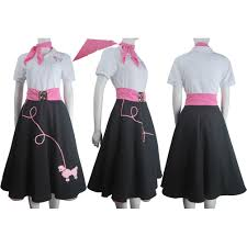 poodle skirt halloween costume hip hop fashion poodle skirt halloween costume daily wear women