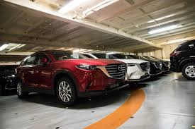 mazda car range australia first shipment of all new 2017 mazda cx 9 arrives down under