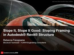 slope it slope it good sloping framing in autodesk revit