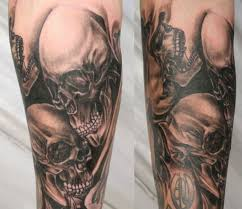 skull sleeve designs design ideas