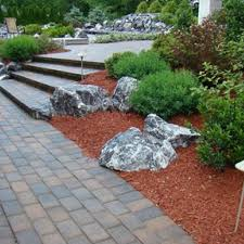 Red Landscape Rock by 44 Best Rock Mulch Landscaping Images On Pinterest Landscaping