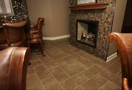 ceramic tile for basement floor interior design