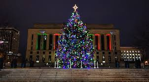 nashville christmas lights 2017 lighting of the city s official christmas tree will happen december