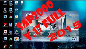 instalar y crackear sap2000 v 17 full 2015 youtube