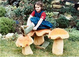 garden seating mushrooms garden sculpture find seating