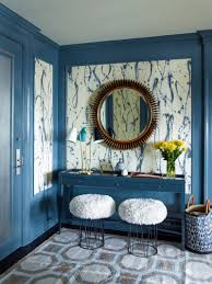 Colorful Interiors Interior Design By Gideon Mendelson Modern Foyer Foyers And