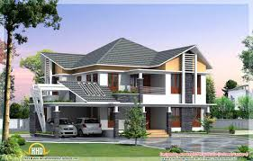 beautiful kerala style house elevations home design building