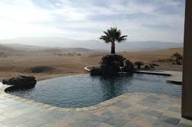 coalinga hills infinity edge pool design paradise pools serving