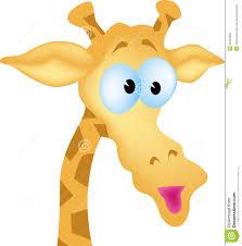 animated giraffe head
