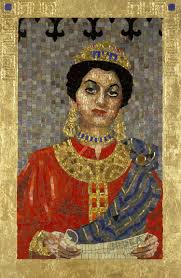 queen esther mosaics lilian broca