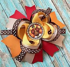 thanksgiving hair bows happy thanksgiving hair accessories for kids 2017 modern