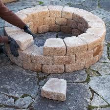 Round Brick Fire Pit Design - best 25 cheap fire pit ideas on pinterest easy fire pit yard
