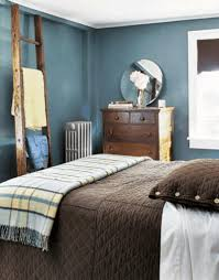 brown and blue decor light blue wall paint color ocean nautical