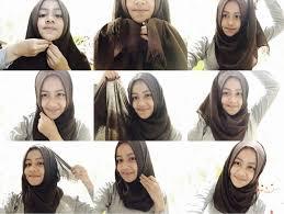 tutorial hijab pashmina untuk anak sekolah tutorial hijab paris untuk pelajar smp sma toturial hijab modern