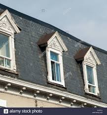 House Dormers Low Angle View Of Dormers In A Traditional House Le Stock Photo