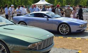land rover skyfall aston martin db9 and dbs zagato centennial live photos