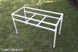 Patio Furniture Pvc - how to make a pvc pipe sand and water table