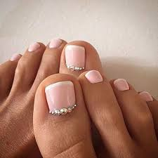31 elegant wedding nail art designs wedding pedicure pedicures