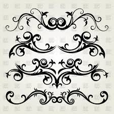 tattoo ornament in flower style vector image 65526 u2013 rfclipart