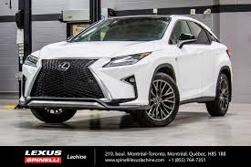 used lexus parts toronto used 2017 lexus rx 350 f sport iii awd toit gps audio for sale in
