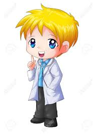 cute cartoon illustration of a doctor stock photo picture and