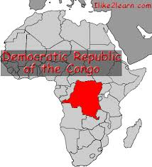 where is the republic on the world map republic of the congo