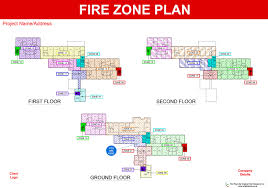 Fire Evacuation Plan Template For Home by Fire Plans Original Cad Solutions