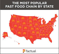 company claims these fast food chains are more popular than