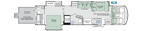 floor plans outlaw class a 38re
