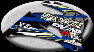 custom motocross helmet yamaha shrouds nineonenine designs