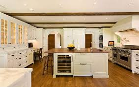 wood island tops kitchens white kitchen with wood countertop island hooked on houses