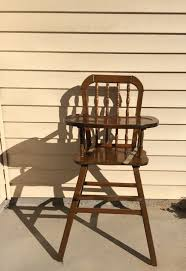 Antique Wood High Chair 25 Unique Vintage High Chairs Ideas On Pinterest Painted High