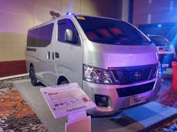 urvan nissan 2015 nissan unveils the new nv350 urvan gadgets magazine philippines