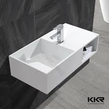 solid surface farmhouse sink kkr artificial stone acrylic solid surface apron farmhouse sink