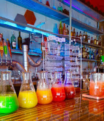 at the chemist in myrtle beach sc we make a rainbow of tropical
